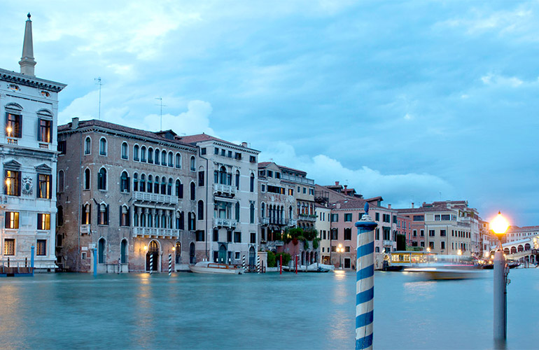 Exterior of Aman Canal Grande in Venice