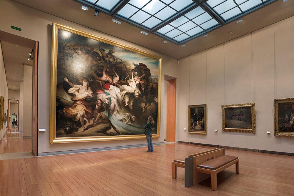 European paintings from the 19th century at the Musée des Beaux-Arts de Lyon