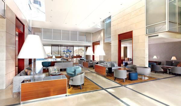 Lobby of The Ritz-Carlton, Herzliya