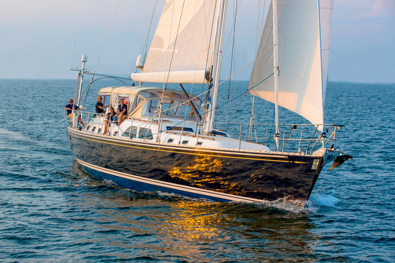 Sleek 70-foot yacht Destiny