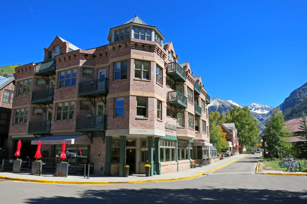 Hotel Columbia, Telluride, Colorado