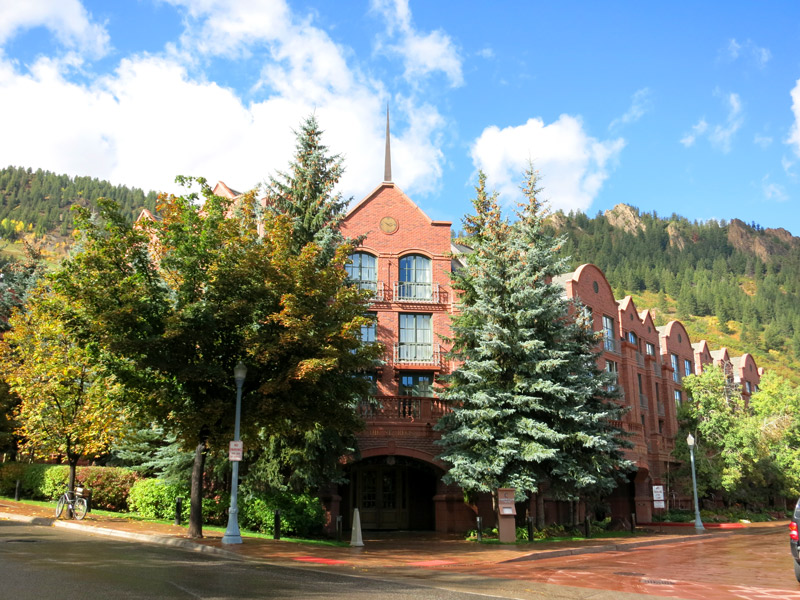 The St. Regis Aspen exterior - Photo by Hideaway Report editor
