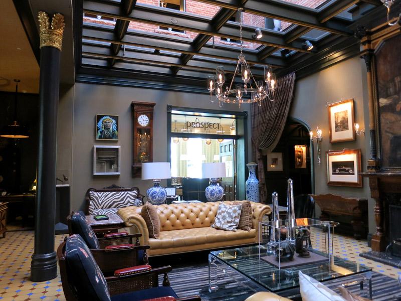 Lobby at Hotel Jerome