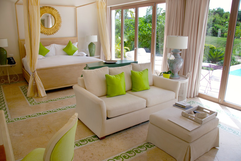 Interior of our room at Eden Roc at Cap Cana