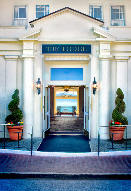 Entrance, The Lodge at Pebble Beach - TGO Photography