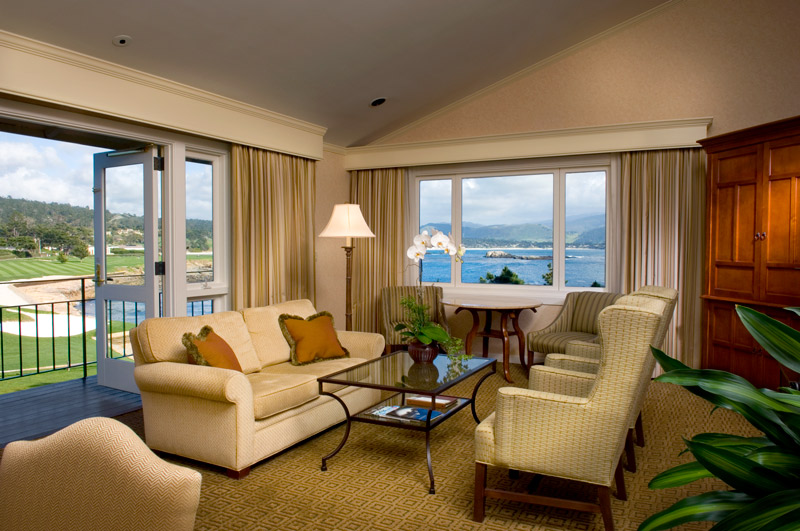Deluxe Ocean View Suite at The Lodge at Pebble Beach  - Scott Campbell