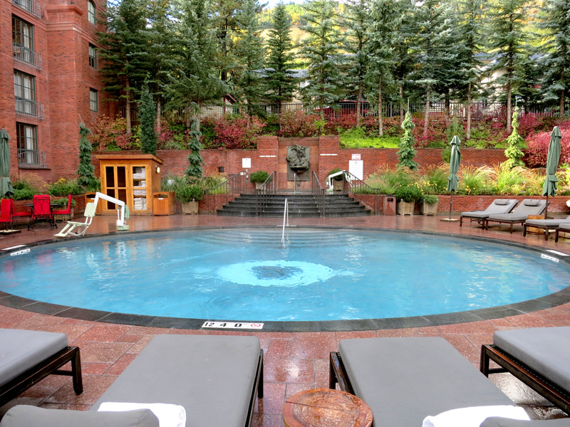 Pool at The St. Regis Aspen