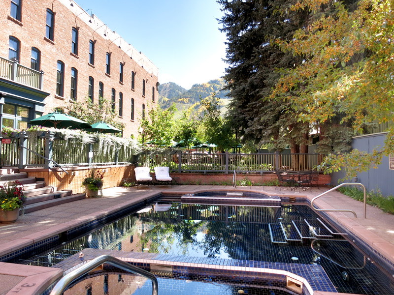 Pool at Hotel Jerome