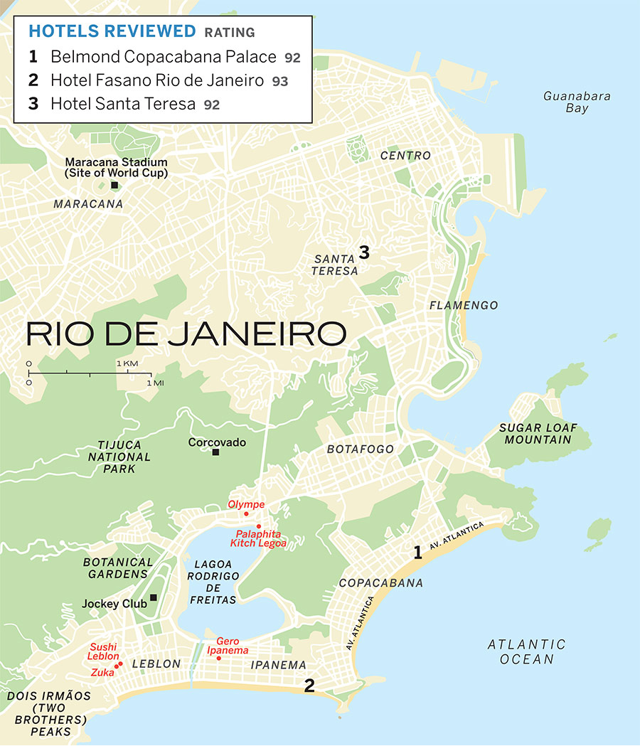 map of rio