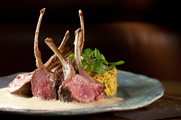 Rack of Lamb, Couscous and Corn Fois Gras at Zuka - © Rodrigo Azevedo