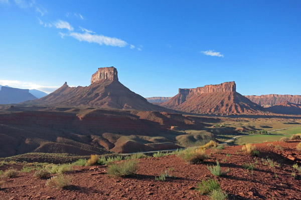 Scene from hike near Sorrel River Ranch, Utah - Photo by Hideaway Report editor