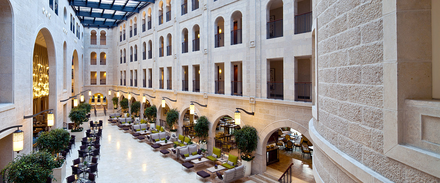 Hotel debuts in tel aviv and jerusalem for Design hotel jerusalem