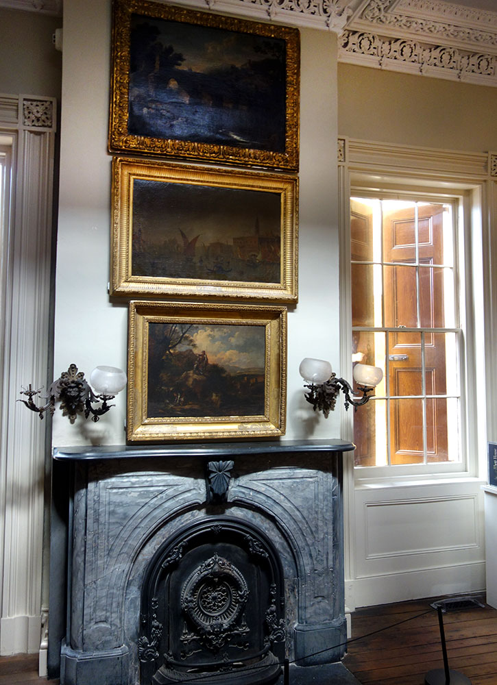 The gallery room of the Aiken-Rhett House in Charleston, South Carolina - Photo by Hideaway Report editor