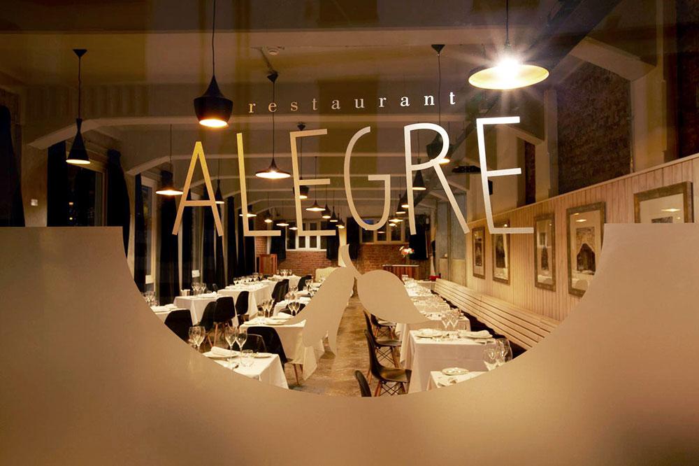 <em>Alegre</em> restaurant at Palacio Astoreca
