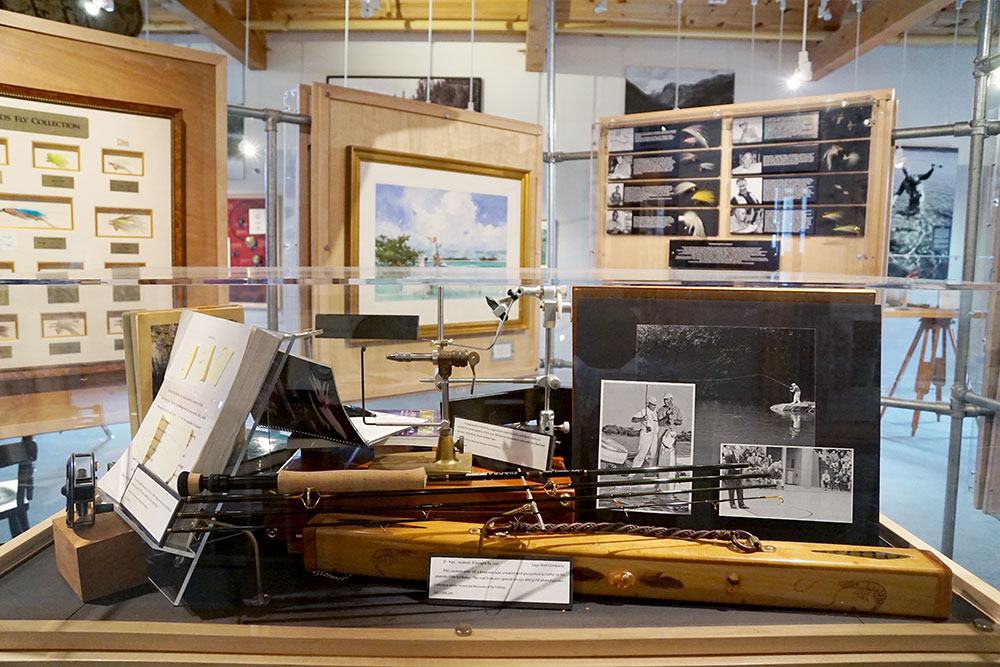 Exhibit at the American Museum of Fly Fishing