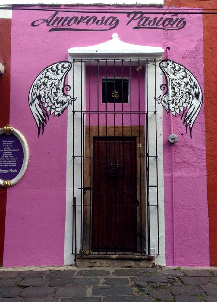 Amorosa Pasión, a shop in the San Angel neighborhood of Mexico City, Mexico  - Photo by Hideaway Report editor