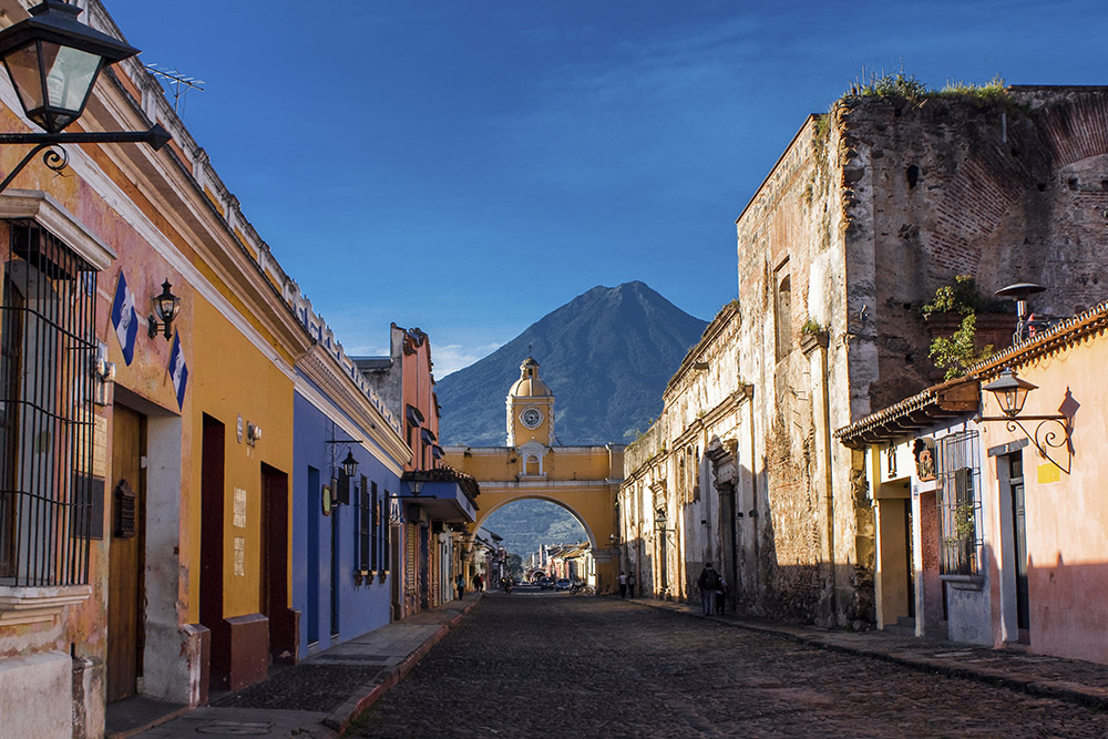 Santa Catalina Arch in Antigua, Guatemala
