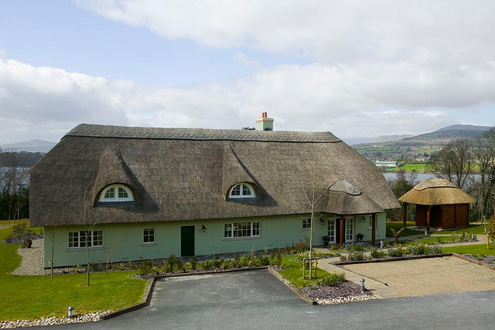 Exterior of Sheen Falls Lodge