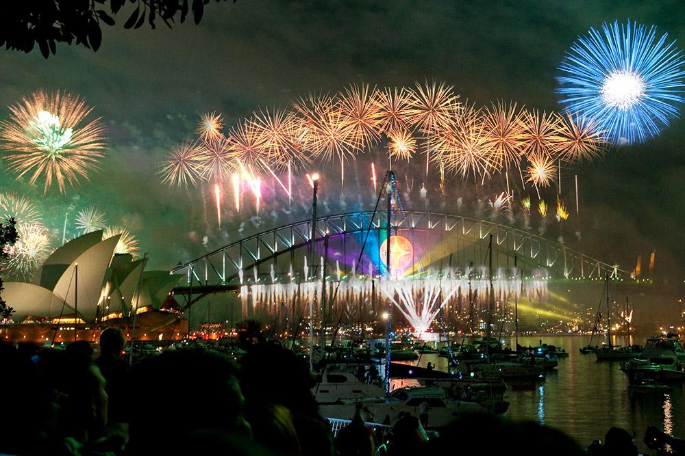 Sydney Harbor Bridge & Opera House