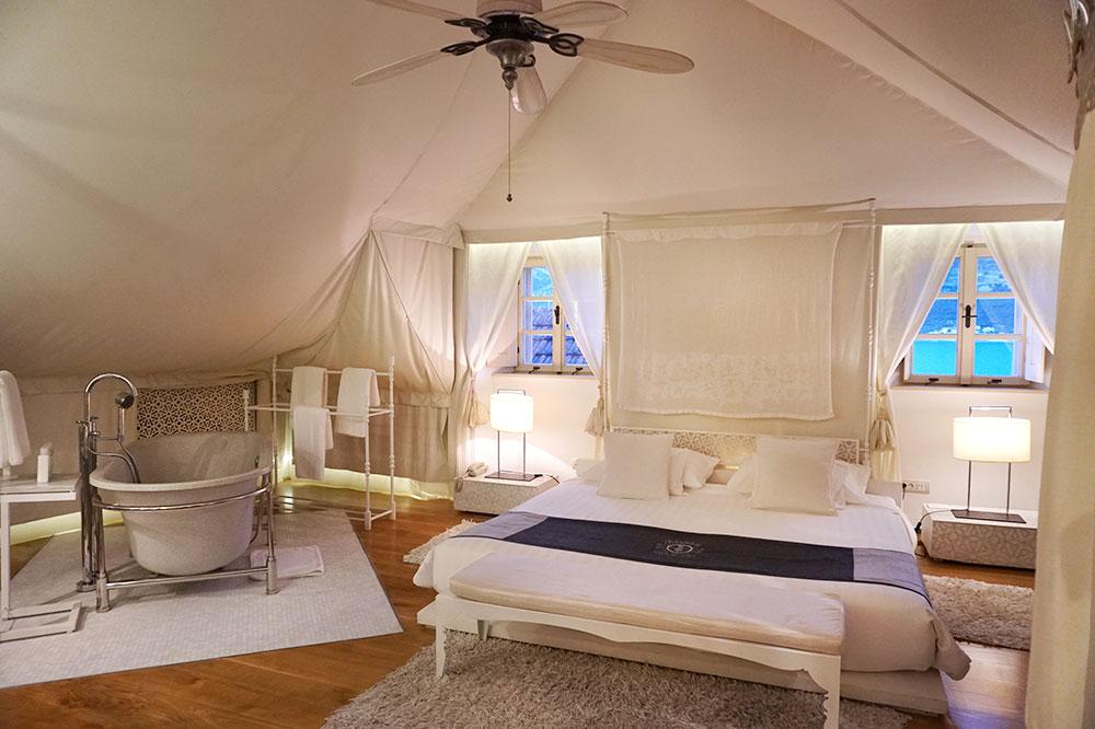 The Arabia Suite atLešić Dimitri Palace in Korčula