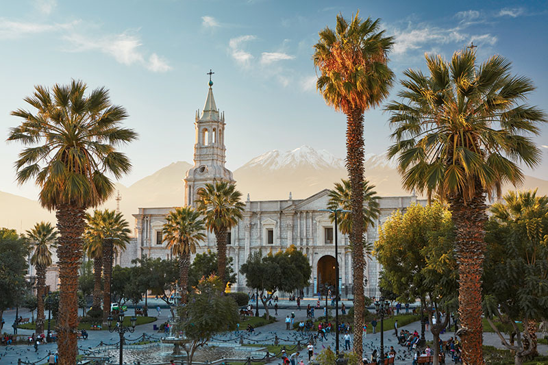 The colonial city of Arequipa, Peru - © Richard James Taylor