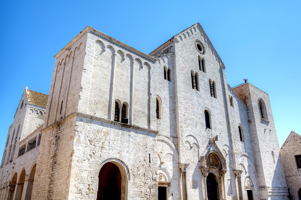 The Basilica Pontificia di San Nicola, where Saint Nicholas is buried