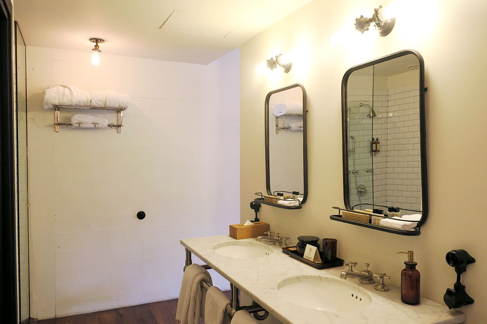 The bath of our Terrace King Room at Rooms Hotel Tbilisi