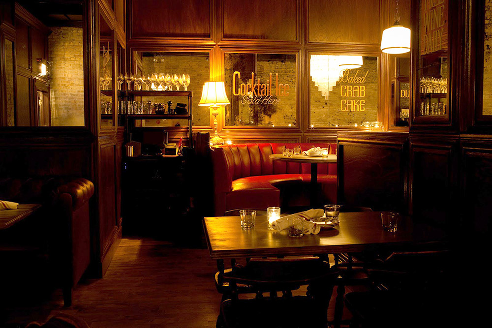 The atmospheric interior of <em>Bavette's</em>