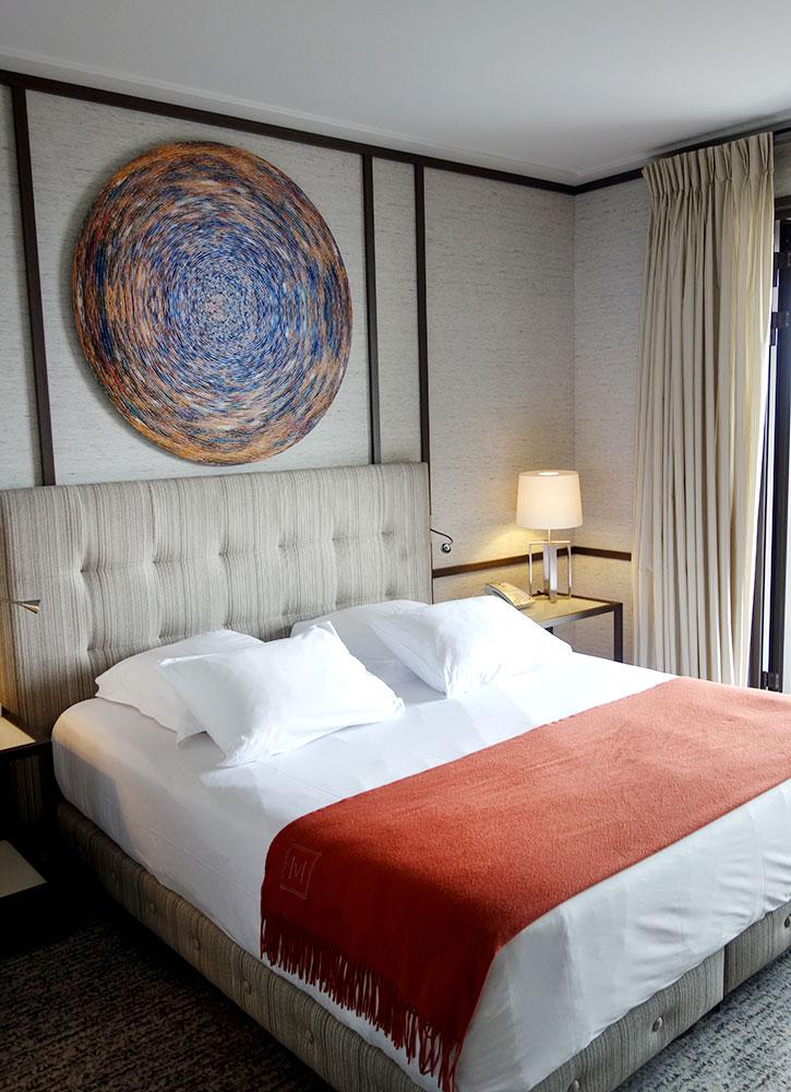 Our room at Villa Maïa