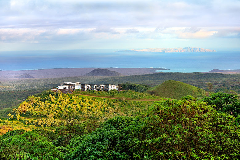 Pikaia Lodge on Santa Cruz Island in the Galápagos