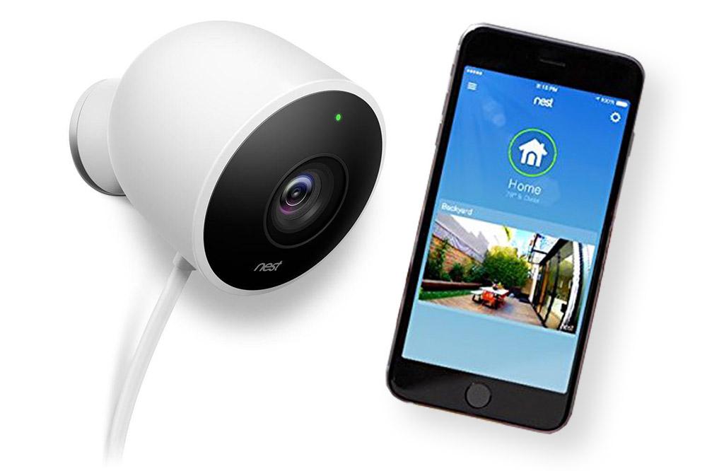 Nest outdoor security camera