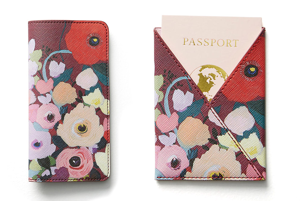 Travel wallet and passport holder by  KT Smail
