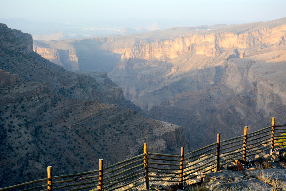 View from Alila Jabal Akhdar - Photo by Hideaway Report editor