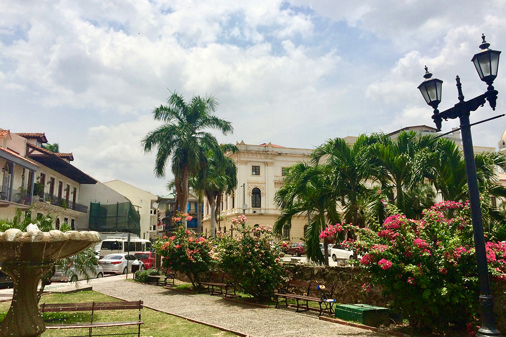 "Casco Viejo, which translates to ""Old Town,"" in Panama City"