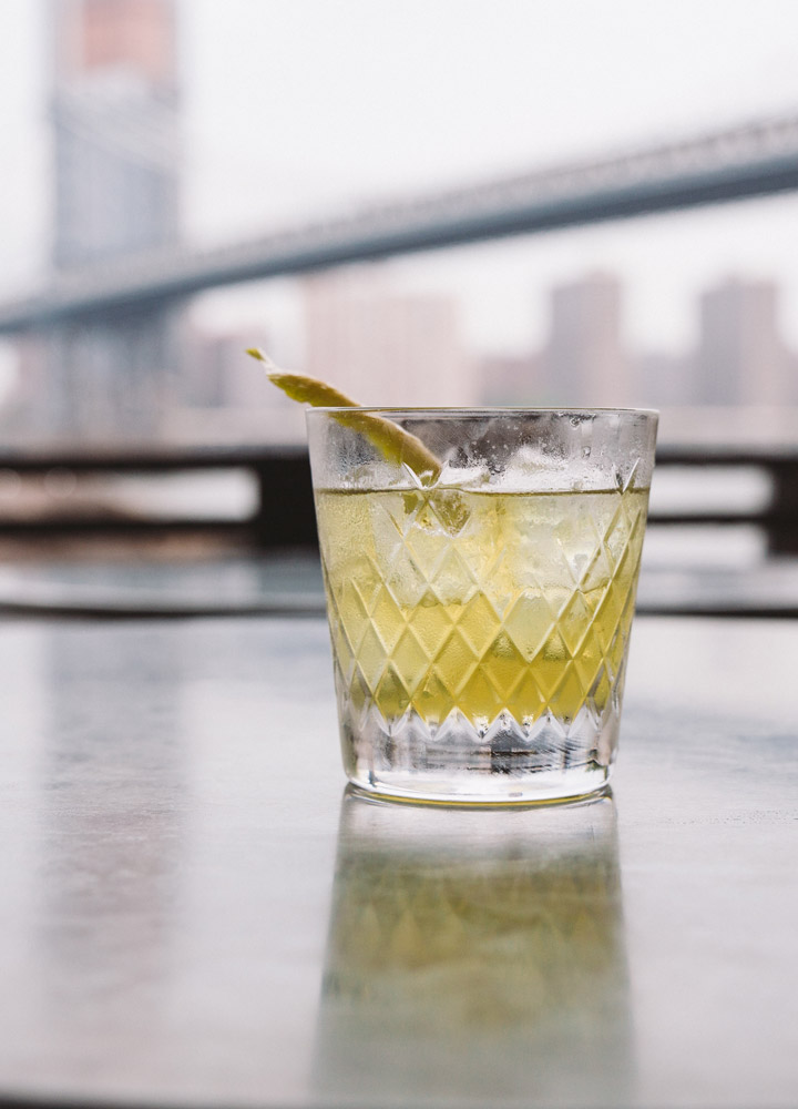 The Last Word, made with green Chartreuse, Luxardo Maraschino, Bombay Dry Gin, citrus and oak, at <em>Cecconi's</em> in Brooklyn - <em>Cecconi's Dumbo</em>