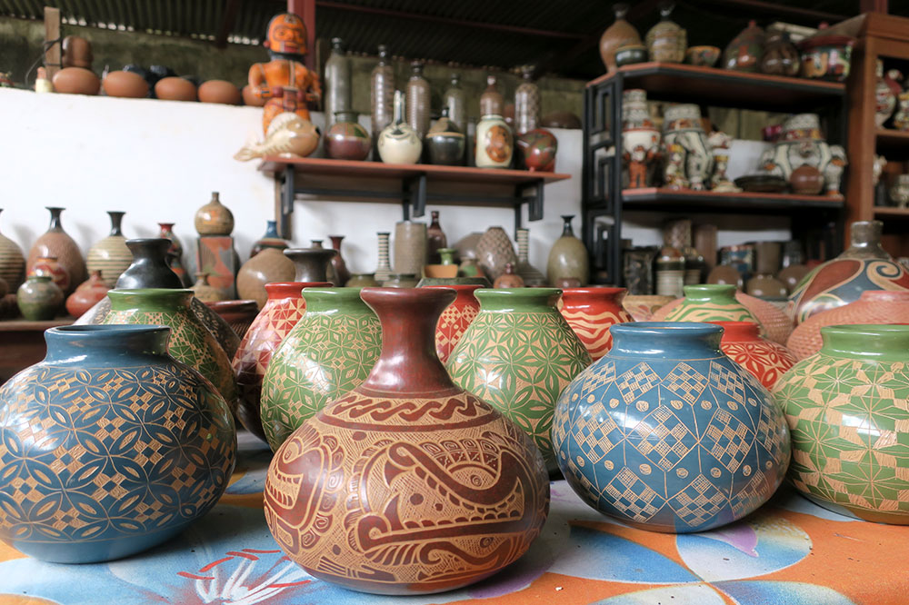Pottery from Miguel Angel Calero Ceramics