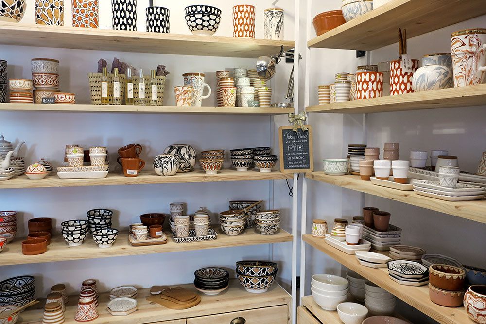 Ceramic products from Chabi Chic