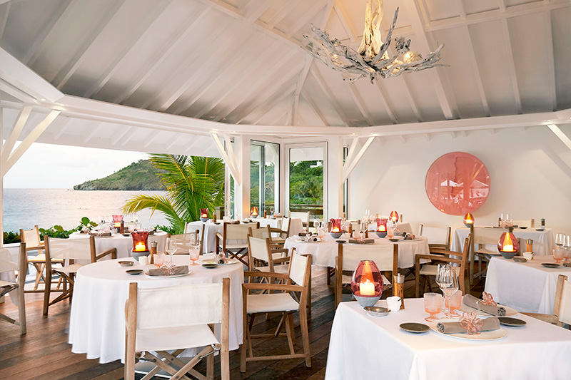 <em>La Case de l'Isle</em> at Cheval Blanc St-Barth Isle de France - © Pierre Carreau