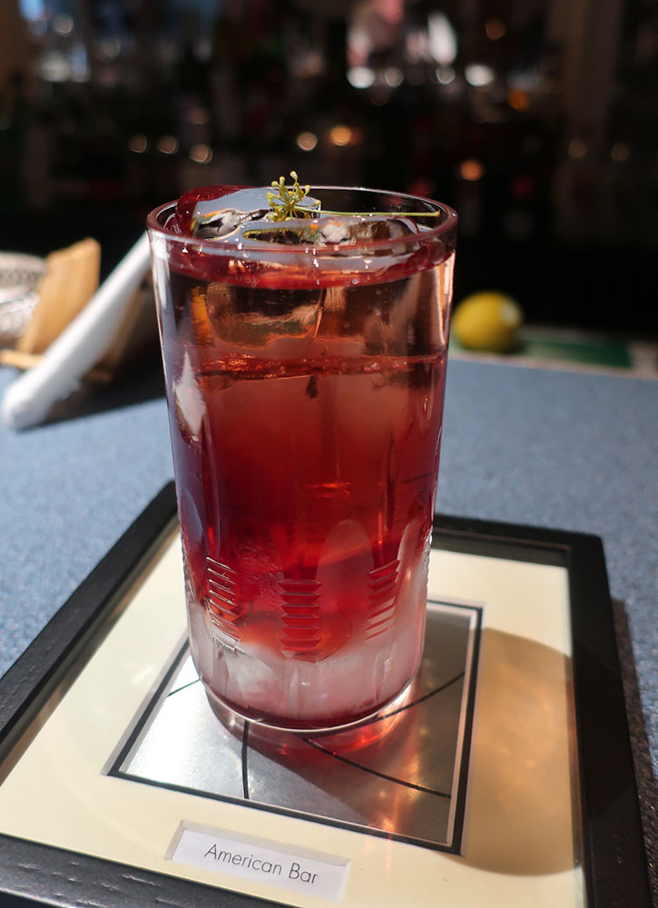 The White Nights from The Savoy's American Bar in London - Photo by Hideaway Report editor