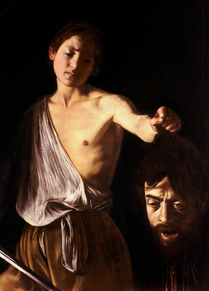 """David With the Head of Goliath"" by Caravaggio - Public Domain/Wikimedia Commons"
