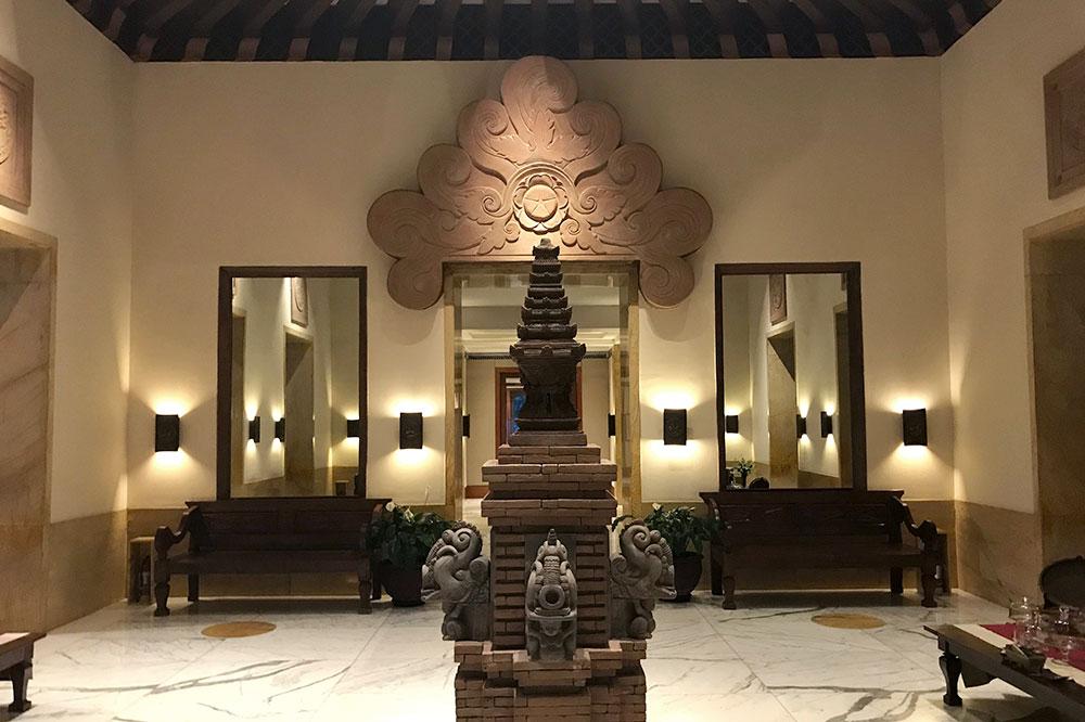 The lobby at The Dharmawangsa Jakarta