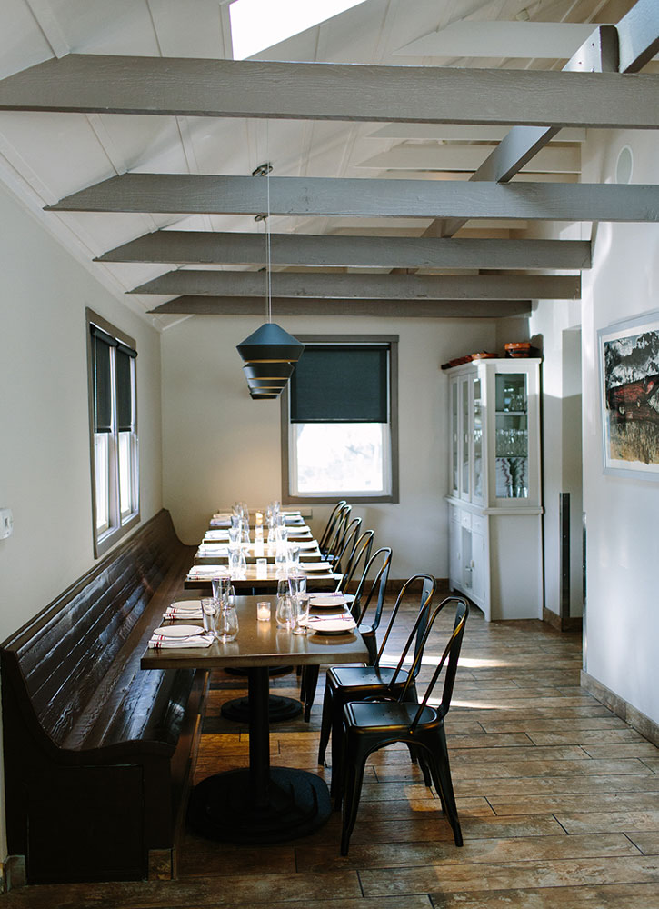 The dining room at Glen Ellen Star in Glen Ellen, California - Megan Clouse
