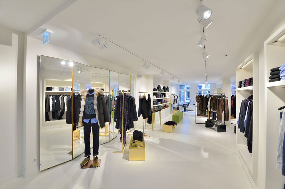 The interior of Essentiel Antwerp