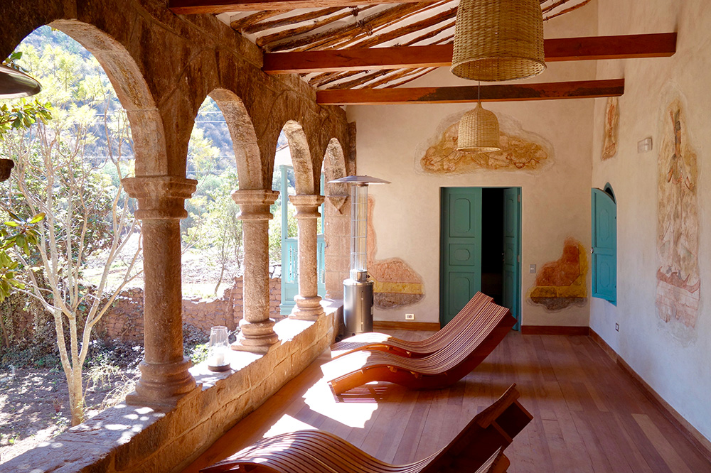 The Spa Pumacahua Bath House at explora Valle Sagrado