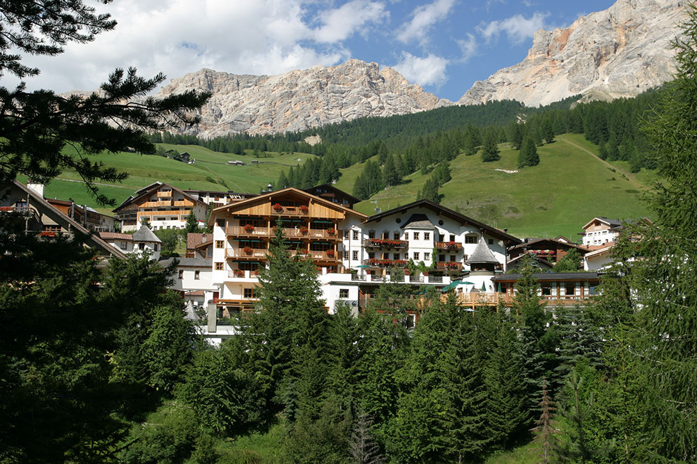 Hotel & Spa Rosa Alpina in the Dolomites, Italy