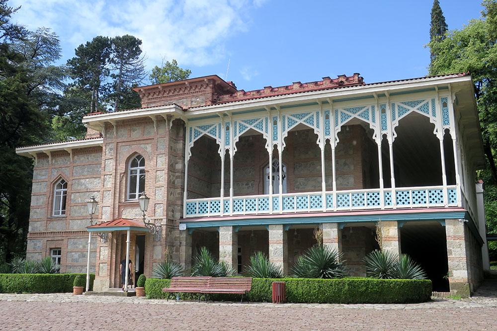 The Tsinandali Estate in Tsinandali