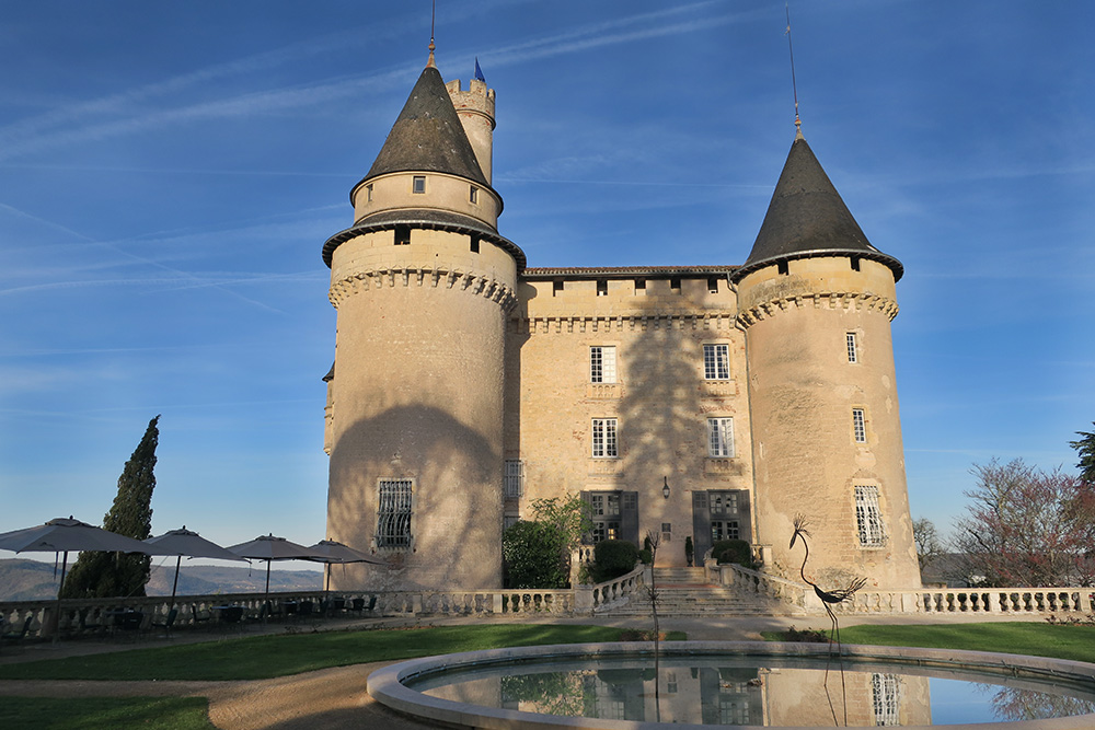 The exterior of the Château de Mercuès in Mercuès, France - Photo by Hideaway Report editor