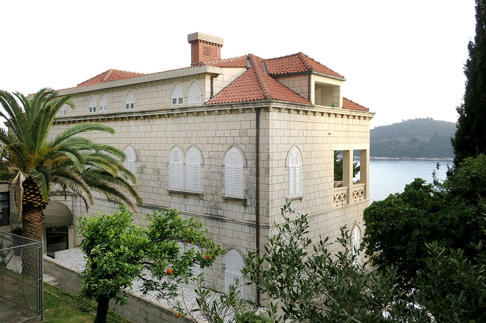 Villa Orsula, a historic 13-room hotel just outside Dubrovnik's center