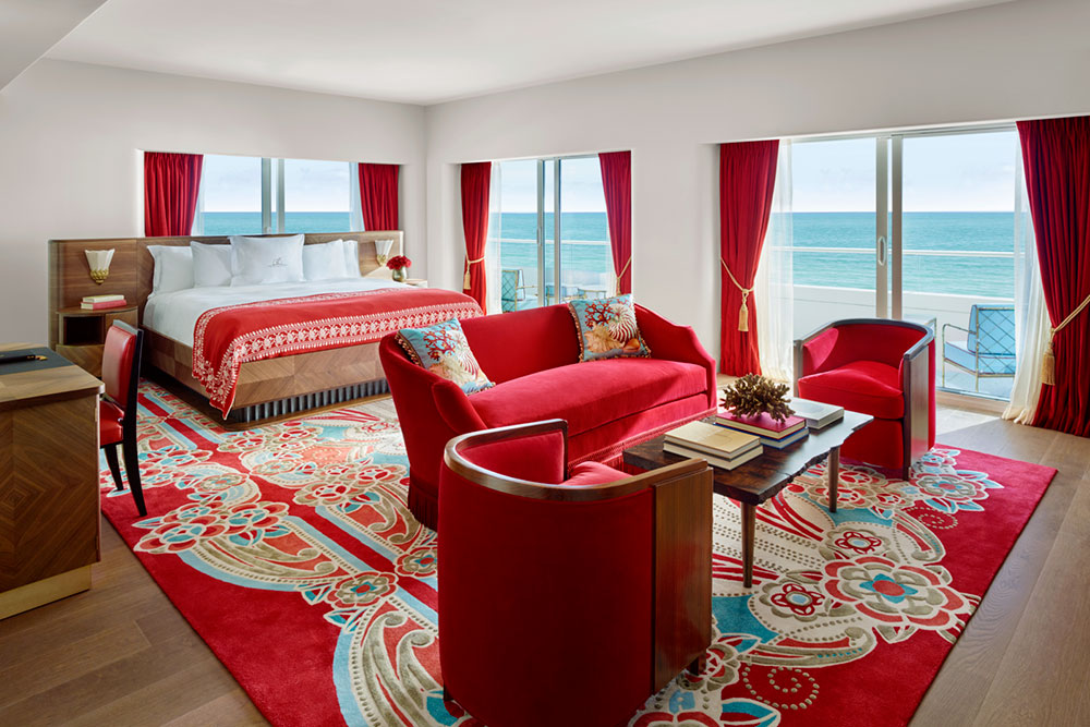 Premier Oceanfront Junior Suite at Faena Hotel