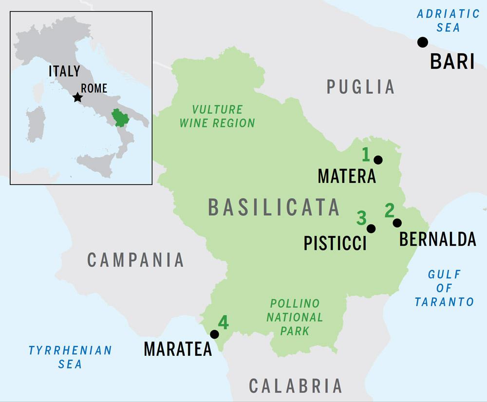 Italy S Untouched Region Of Basilicata Hideaway Report Hideaway